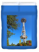 Space Needle Duvet Cover