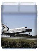 Space Shuttle Atlantis Touches Duvet Cover