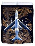 Space Shuttle Piggyback Duvet Cover
