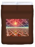 Space Portal To The Stars Duvet Cover