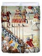Spain: Higueruela, 1431 Duvet Cover