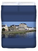 Spanish Arch, Galway City, Ireland Duvet Cover