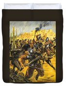 Spanish Conquistadors Duvet Cover