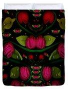 Spanish Flamenco Roses In Fantasy Style Duvet Cover