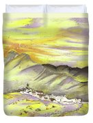 Spanish Mountain Village 01 Duvet Cover