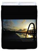 Spanish Sunrise Duvet Cover