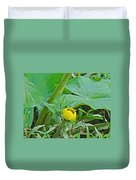 Spatterdock Wild Yellow Water Lily - Nuphar Lutea Duvet Cover