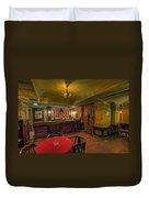 Speakeasy Club -- Butte Montana Duvet Cover