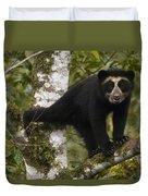 Spectacled Bear Tremarctos Ornatus Cub Duvet Cover