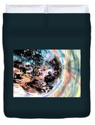 Speeding There Duvet Cover
