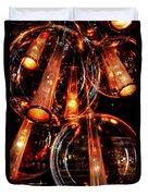 Spherical Lamps Duvet Cover