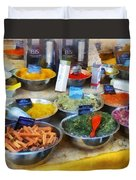 Spice Stand Duvet Cover