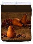 Spiced Pears Duvet Cover