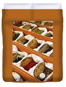 Spices On The Market Duvet Cover