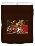 Spicy Still Life Duvet Cover
