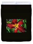 Spiderman The Day Lily Duvet Cover