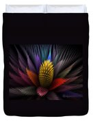 Spiky Botanical Duvet Cover by Peggi Wolfe