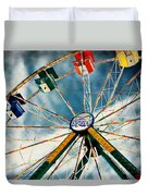 Spin City Duvet Cover