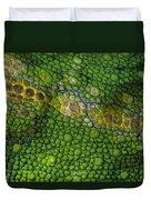 Spiny Desert Rhinoceros Chameleon Duvet Cover
