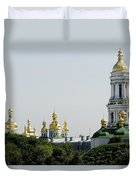 Spires Of Church Duvet Cover