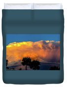 Spirit In The Clouds Duvet Cover by Shannon Harrington
