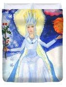 Spirit Of Winter Duvet Cover