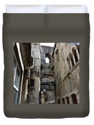 Split Croatia's Old Town Duvet Cover