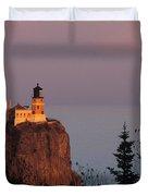 Split Rock Lightghouse - Fs000635 Duvet Cover