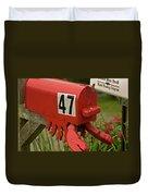 Sponge Bob's Mail Box  Duvet Cover