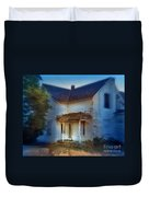 Spooky Old House Duvet Cover