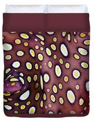 Spotted Flatworm Duvet Cover