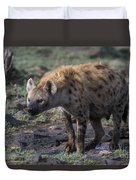 Spotted Hyena Duvet Cover