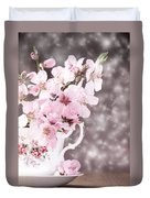 Spring Blossom Duvet Cover by Amanda Elwell