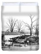 Spring Flood, 1903 Duvet Cover