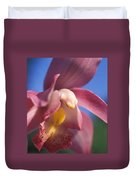 Spring Orchid Duvet Cover by Kathy Yates