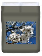Spring Pear Blossoms 2012 Duvet Cover by Joyce Dickens