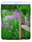 Spring Phlox 6074 Duvet Cover