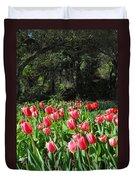Spring Tulips 1 Vertical Duvet Cover