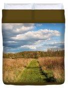Spring's Mowed Path Duvet Cover