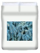 Spruce Conifer Nature Art Prints Trees Duvet Cover