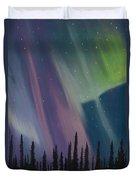 Spruce Silhouette Duvet Cover