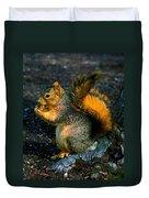 Squirrel At Riverfront Park Duvet Cover