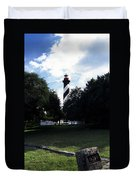 St. Augustine Lighthouse Duvet Cover