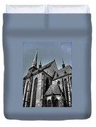 St. Bartholomew Cathedral - Pilsen Duvet Cover