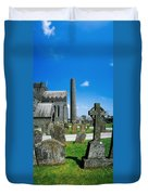 St. Canices Cathedral, Kilkenny City Duvet Cover