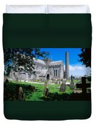 St Canices Cathedral &, Round Tower Duvet Cover