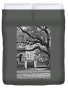 St. Charles Ave. Monochrome Duvet Cover