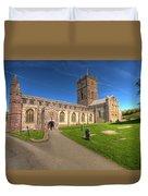 St Davids Cathedral 5 Duvet Cover