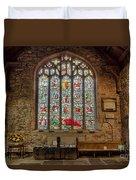 St Dyfnog Church Duvet Cover