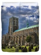 St Edmund King And Martyr Southwold Duvet Cover